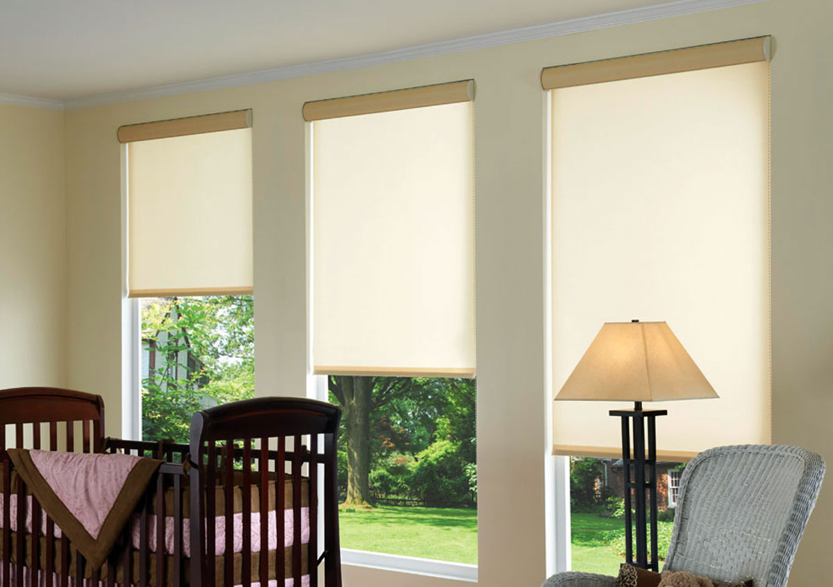 Roller Shades by Blended Blinds